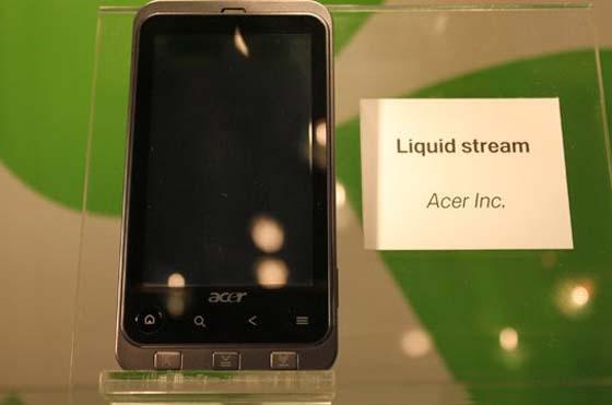 acer liquid stream