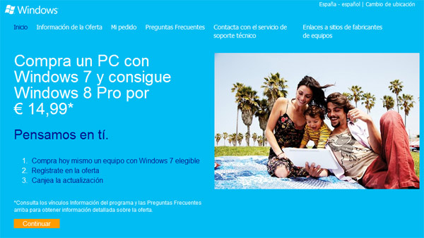 actualizacion pc windows 8