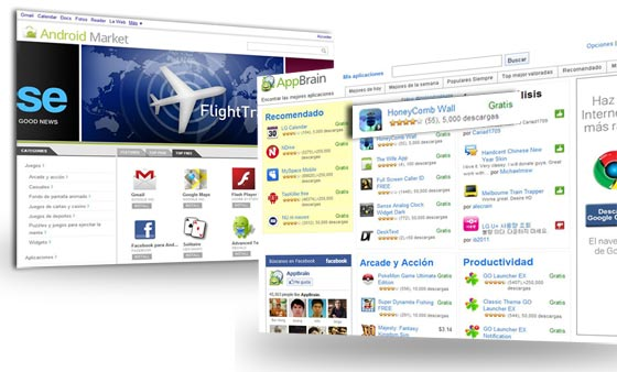 android market appbrain