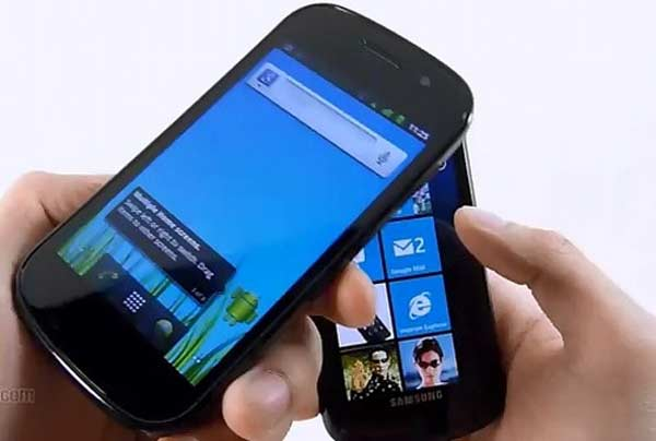 android vs windows phone 7