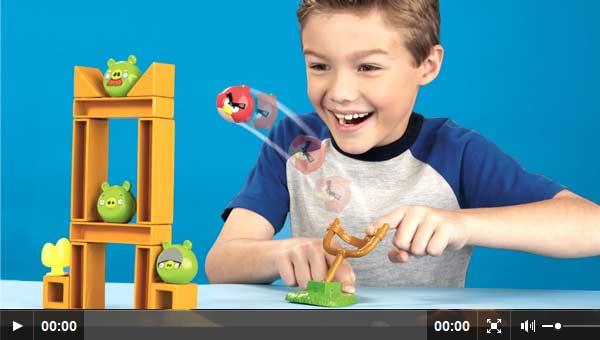 Angry Birds El Juego De Mesa De Mattel