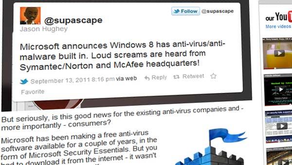 antivirus install windows 8
