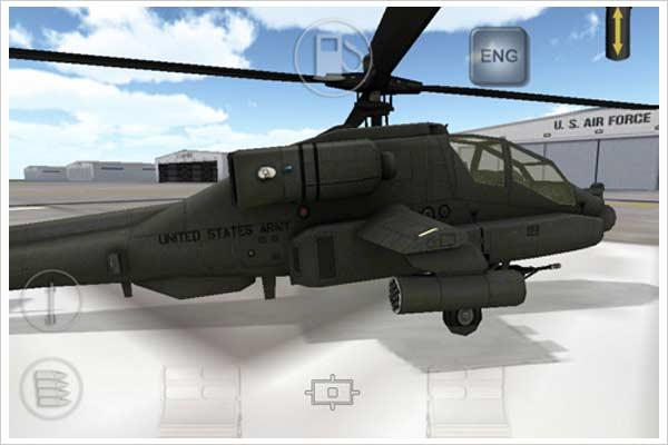 apache 3d sim ipad iphone