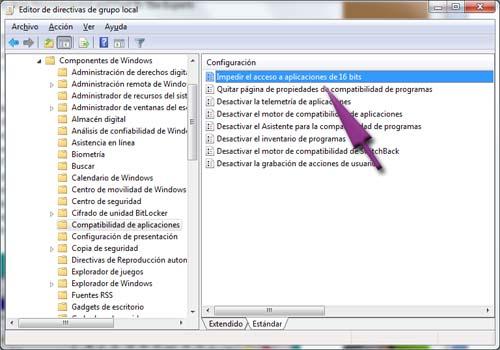 aplicaciones 16 bits windows