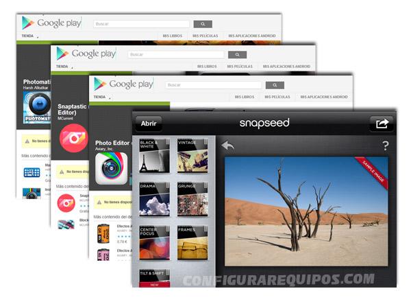 aplicaciones fotografia movil