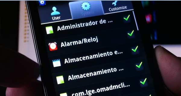 aplicaciones inicio android