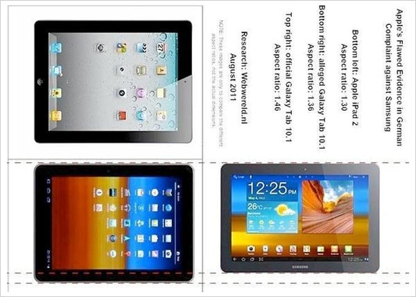 apple ipad galaxy tab samsung