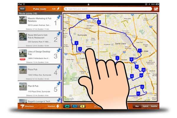apps rutas viajes iphone ipad