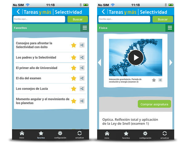 aprobar selectividad iphone