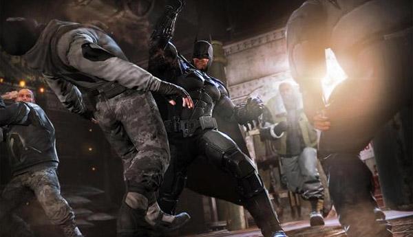 batman arkham origins ingame