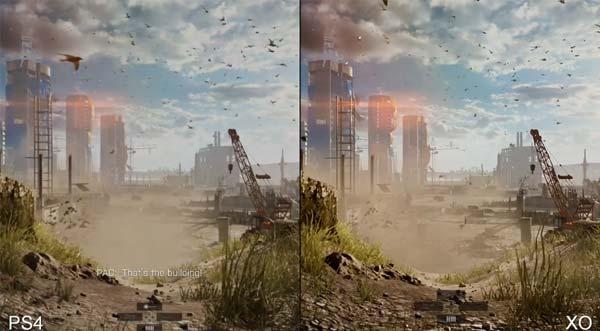 battlefield 4 ps4 vs xbox one