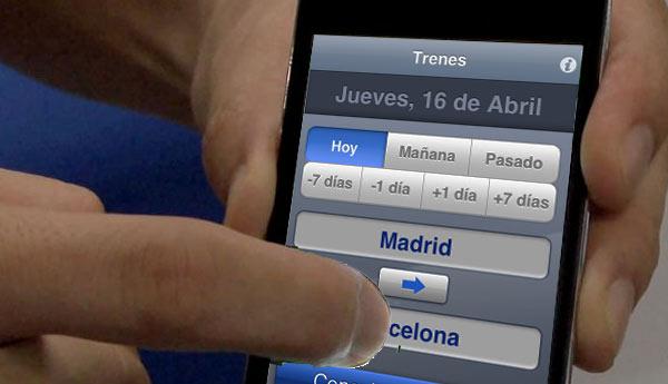 billete smartphone renfe