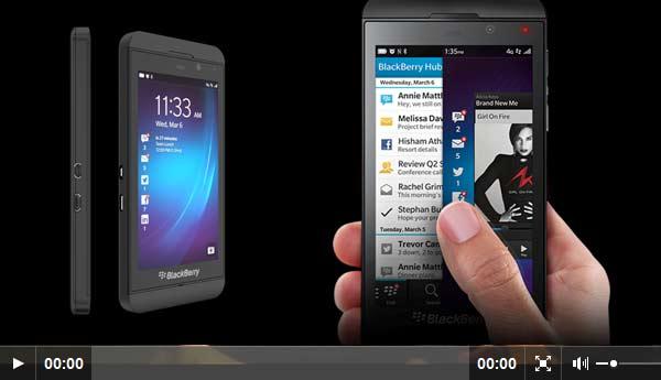 BlackBerry Z10 y Q10, compitiendo con los más grandes.