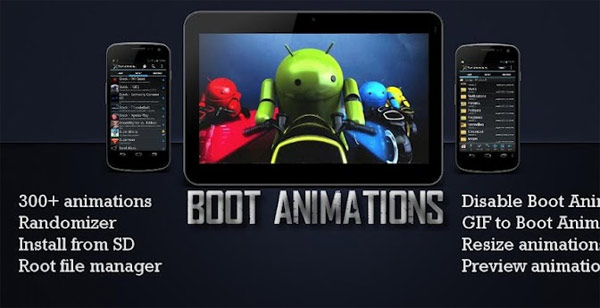 boot animations android