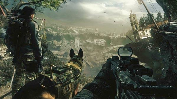 call of duty ghost multijugador
