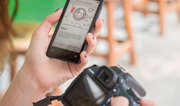 canon eos 1200d app