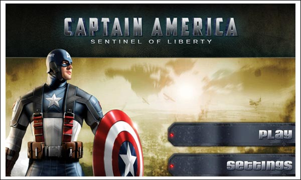 captain america sentinel liberty ipad
