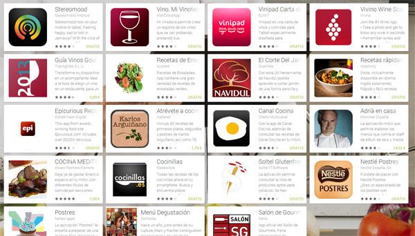 cocina aplicaciones android