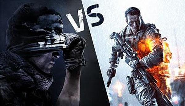cod ghost vs battlefield 4