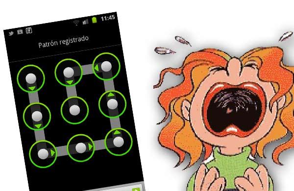 desbloquear movil android clave patron olvidados