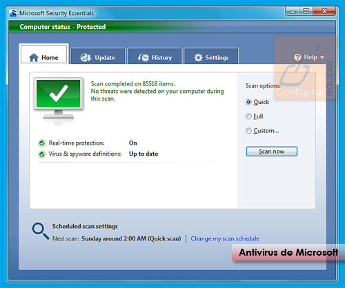 descarga microsoft security essentials