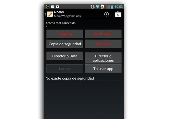 desinstalar apps fabrica android root uninstaler