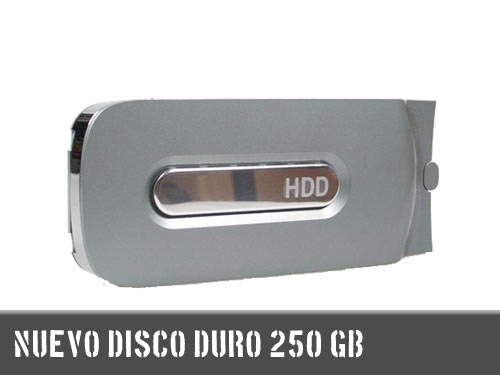 disco duro 250 gb xbox