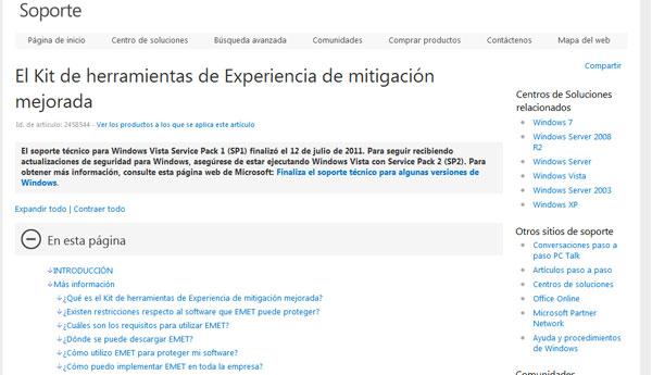 emet internet explorer