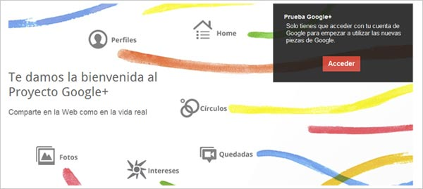 entrar google plus
