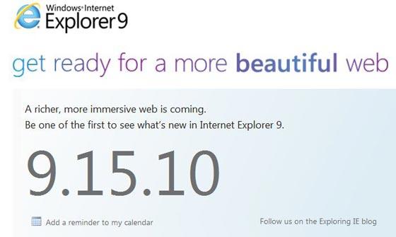explorer 9 internet