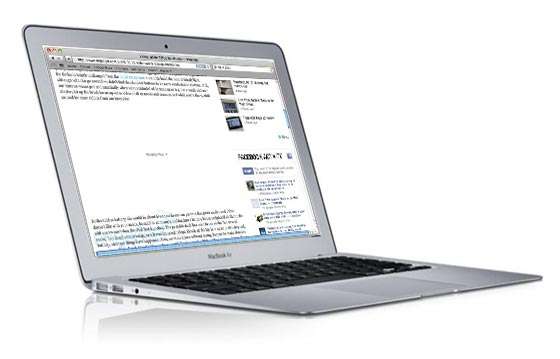 flash apple macbook air
