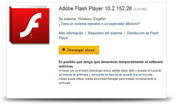 flash player 10 2