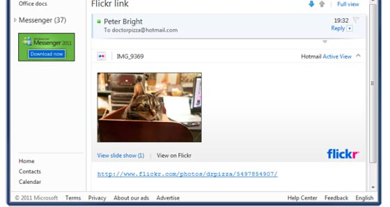 flickr correo hotmail