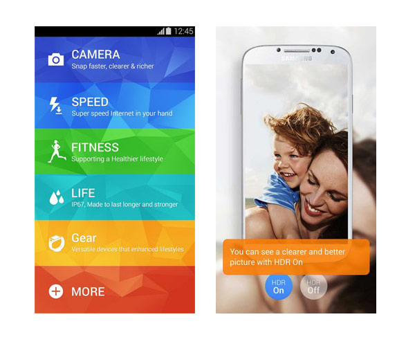 galaxy s5 experience apps android 2