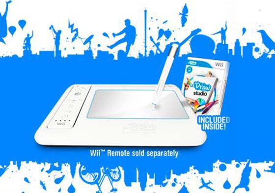 gametablet udraw wii