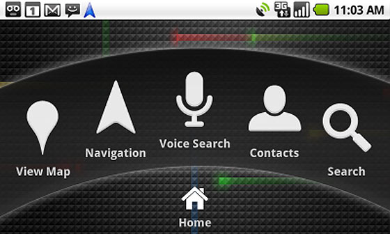 google maps navigation android
