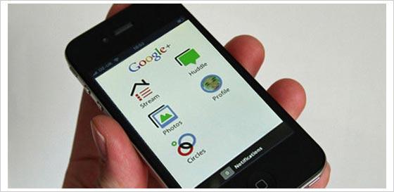 google plus iphone ipad