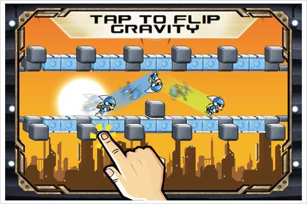 gravity guy hd ipad