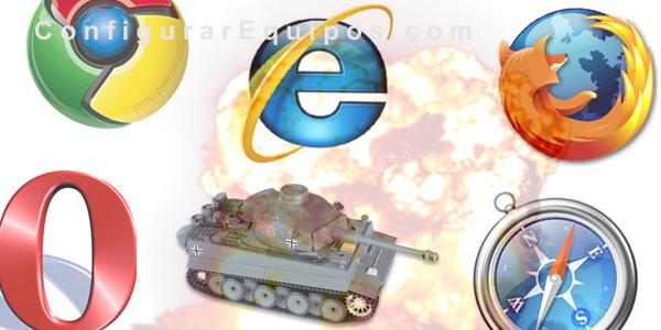 guerra navegadores internet