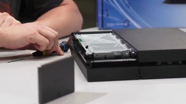 instalar disco duro ps4