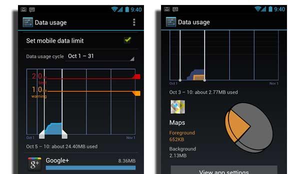 interfaz android 4 0