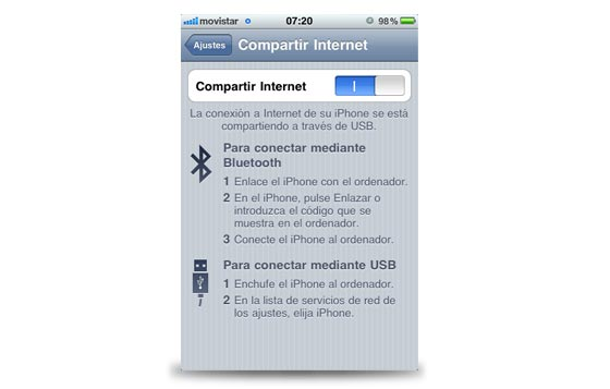 internet bluetooth iphone 3g