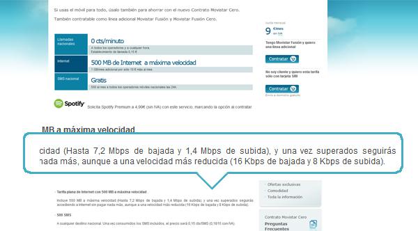 internet movil movistar velocidad