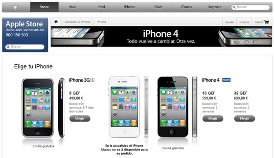 iphone 3gs 4 libre
