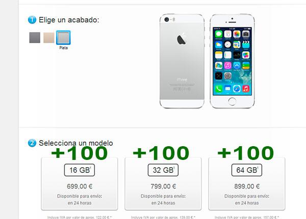 iphone 6 subida precio