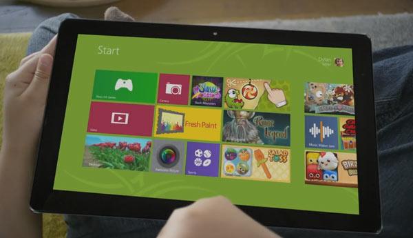 juegos  windows 8 tablet