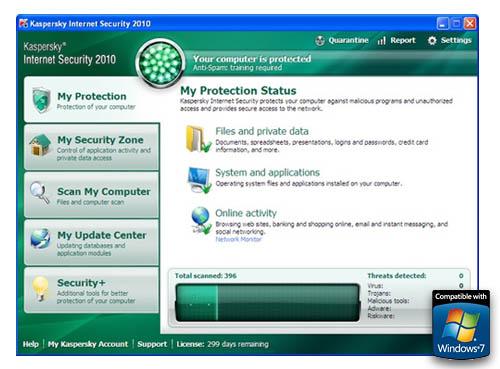 kaspersky antivirus windows 7