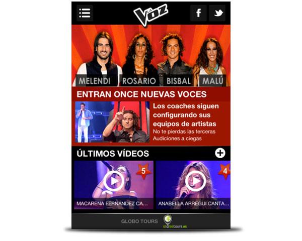 la voz ipad app