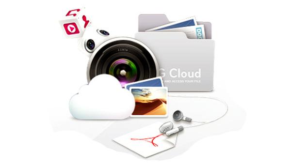 lg cloud archivos