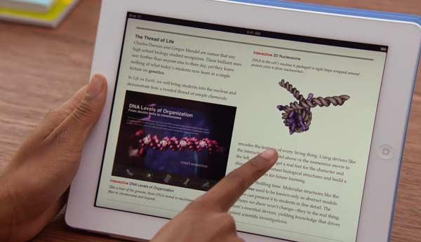 libros interactivos ipad apple ibook